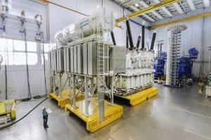 Thiết bị đệm khí Delu di chuyển đồng thời nhiều cấu kiện nặng